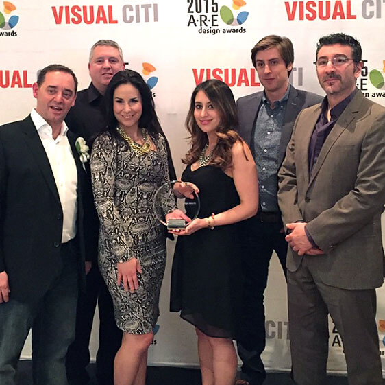 A.R.E Awards Winners Vintage New 2015 - Jump Branding & Design Inc. Tavolo