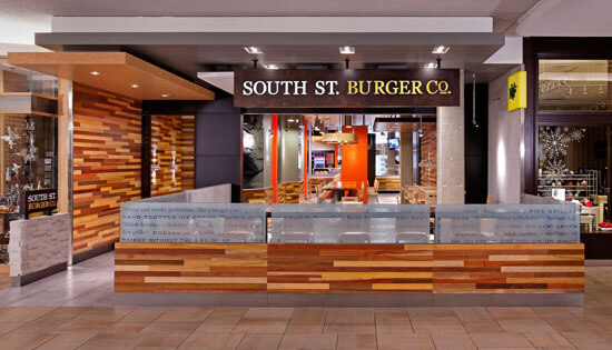 ARE award Winner South St Burger fast casual environmental design 1