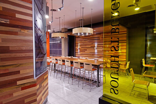 ARE award Winner South St Burger fast casual environmental design 2