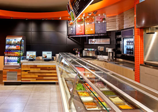 ARE award Winner South St Burger fast casual environmental design 5