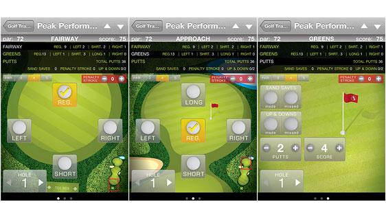 Golf Stats Tracker Pro Screenshots